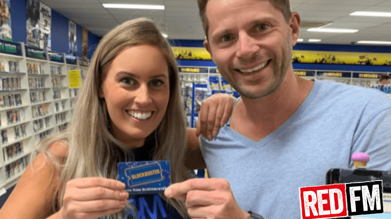 Alana and Robbie become Blockbuster's last ever Australian Members